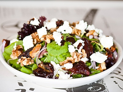 Goat Cheese and Date Salad